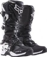 Fox Comp 5Y Youth Kids Motocross Boots Black